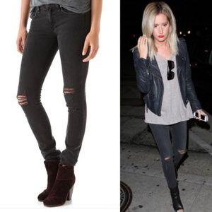 rag & bone Skinny Jeans Rock with Holes size 25